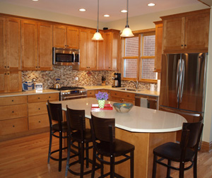 Custom kitchen cabinets chicago kitchen bath remodeling for Kitchen cabinets gold coast
