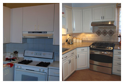 Cabinet Design & Remodeling - Before & After Gallery